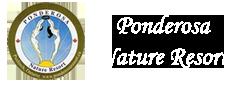 Ponderoa Nature Resort Logo Footer